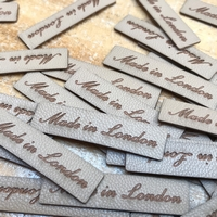 Laser Cut Labels