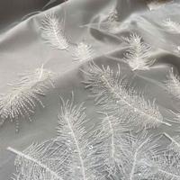 Beaded Lace Fabrics