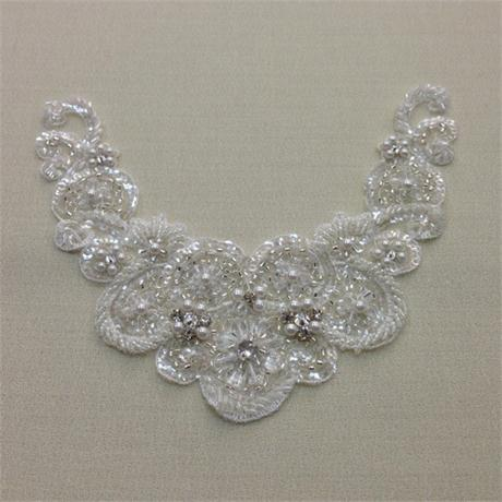 Crystal and Pearl Appliqué Image 1