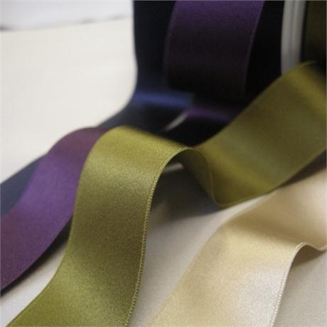Silk Double Satin Ribbon - 25mm Image 1