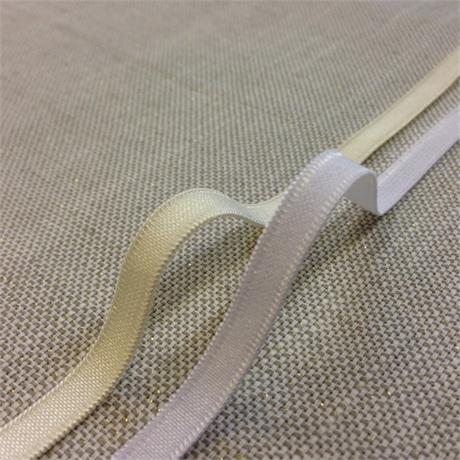 Narrow Satin Stretch Ribbon Image 1