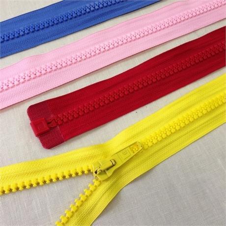Rubi No.9 Plastic Heavy Weight Open End Zip Image 1