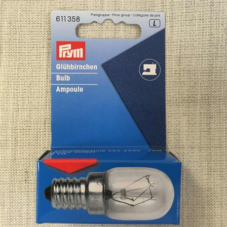 Prym Spare Bulb for Sewing Machine with Screw Image 1