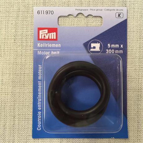 Prym Motor Belt for Sewing Machines 300 x 5 m Image 1