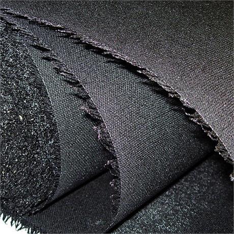 Black Double Sided Buckram Image 1