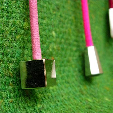 Metal Cube Cord End Image 1