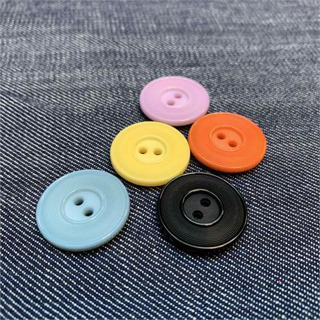 Italian 2-Hole Plastic Button Image 1