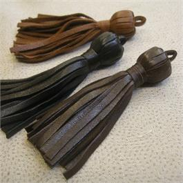 Leather Tassel 8cm thumbnail