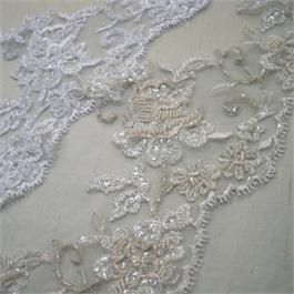 Beaded Scallop Lace Edging 16cm thumbnail