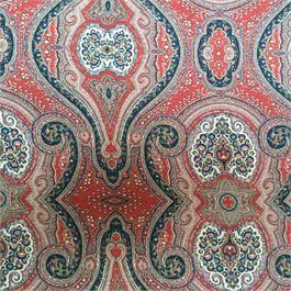 Paisley Printed Silk Crepe de Chine Thumbnail Image 2