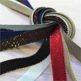 Shindo Metallic Grosgrain Ribbon thumbnail