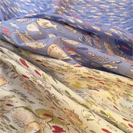 Fish Printed Cambric thumbnail