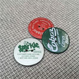 2- Hole Mixed Recycled Bottle Top Button thumbnail