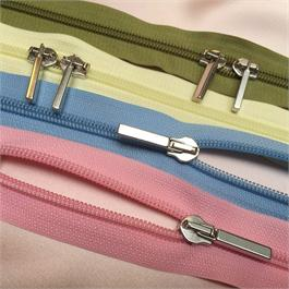 Rubi 6 Nylon Closed 2-Way Slider Bag Zip - 50cm thumbnail
