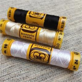 Italian Pure Silk Thread TK24 - 10m Thumbnail Image 1