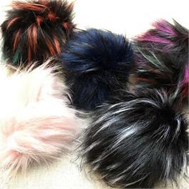 Large Fake Fur PomPoms thumbnail