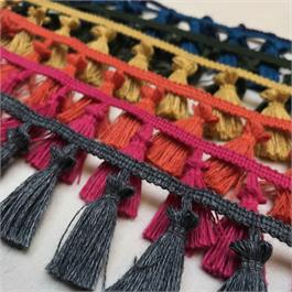 Italian Woollen Tassel Fringe thumbnail