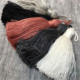 Italian Cotton Feel Viscose Tassels thumbnail