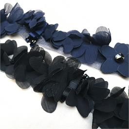 Fine Floral Ribbon Trim thumbnail