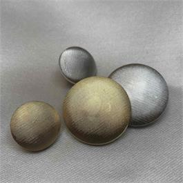 Italian Retro Metallic Satin Button thumbnail