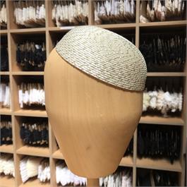 Synthetic Plain Cap with Metallic Thread thumbnail