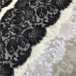 Fine French Cotton Lace Border thumbnail