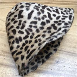 Fur Felt Leopard Cone with Leopard Insid thumbnail