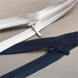 YKK Polyester Concealed Zip - 70cm thumbnail