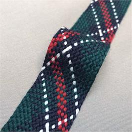 Italian Polyester/Wool Mix Woven Ribbon thumbnail
