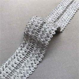 Italian Natural Linen Foldover Braid thumbnail