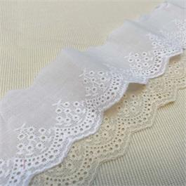 Cotton Broderie Lace thumbnail