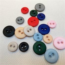 Italian Plastic 2-Hole Shirt Button thumbnail