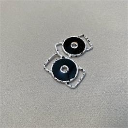 Small Circular Enamelled Slider thumbnail