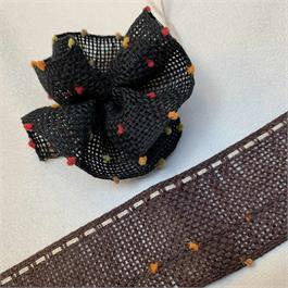 Japanese Linen Flower Ribbon thumbnail