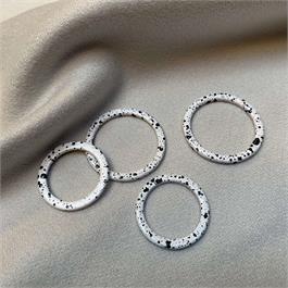 Speckled Enamel Rings thumbnail