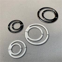 Enamelled Double O-Ring Slider thumbnail