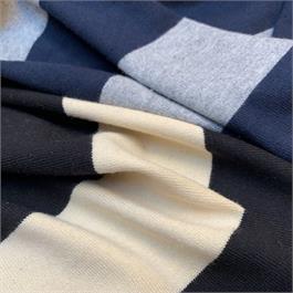 Super Wide Stripe Cotton Jersey thumbnail