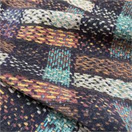 Tweed Print Crepe De Chine thumbnail