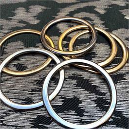 Flat Metal Ring 50mm thumbnail