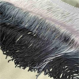 Dip Dyed 2-Colour Rayon Fringe thumbnail
