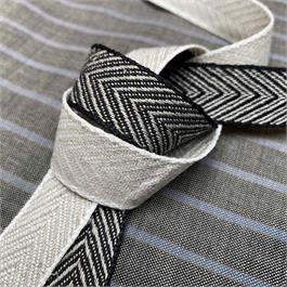 Japanese Linen Chevron Ribbon thumbnail