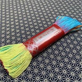 Japanese Sashiko Light Embroidery Thread Rainbow - 100m thumbnail