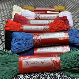 Japanese Sashiko Light Embroidery Thread - 100m thumbnail
