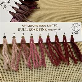 Appletons 4-ply Tapestry Wool Skein Dull Rose - 10m. thumbnail
