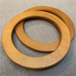 Round Wooden Bag Handle thumbnail