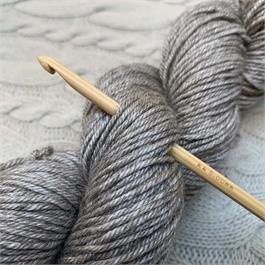 SeeKnit Shirotake 5mm Bamboo Crochet Hook thumbnail