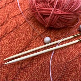 SeeKnit Shirotake 3.5mm Bamboo Flexi Single Pointed Needles thumbnail