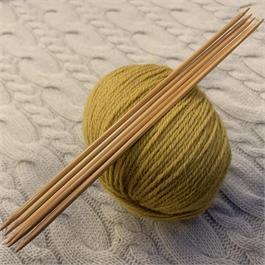 20cm SeeKnit Koshitsu Double Pointed 3.25mm Bamboo Needles thumbnail