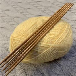 20cm SeeKnit Koshitsu Double Pointed 3.75mm Bamboo Needles thumbnail