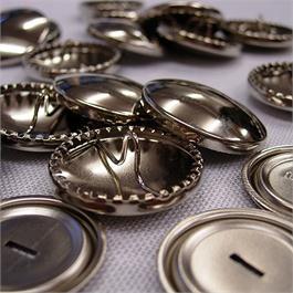 Prym 11mm Brass Button Covering Kit thumbnail